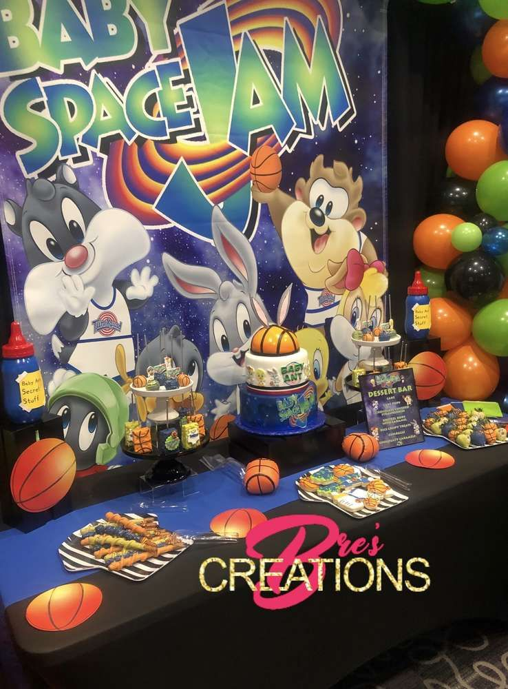 Cartoon Boy Baby Shower Themes : cartoon, shower, themes, Space, Shower, Party, Ideas, Photo, Looney, Tunes, Party,, Theme,, Birthday, Themes
