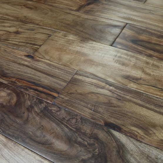 Best Acacia Natural 3 4 X 4 3 4 Solid Hardwood Floors Black 400 x 300