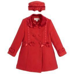 b23d18aa2 Girls Coat   Hat Set