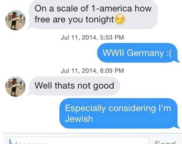Or give them a brief history lesson. | 23 Flawless Responses To Straight Boys
