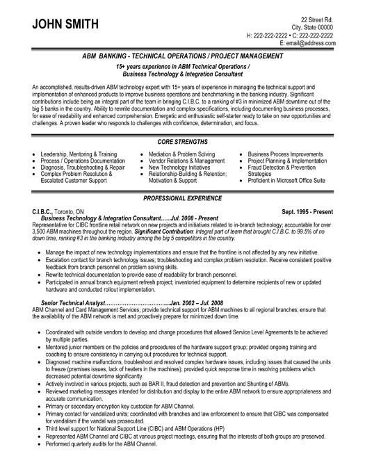 Click Here To Download This Technical Operator Resume Template Http Www Resumetemplates101 Com Trades 20 R Recruiter Resume Resume Template Resume Templates