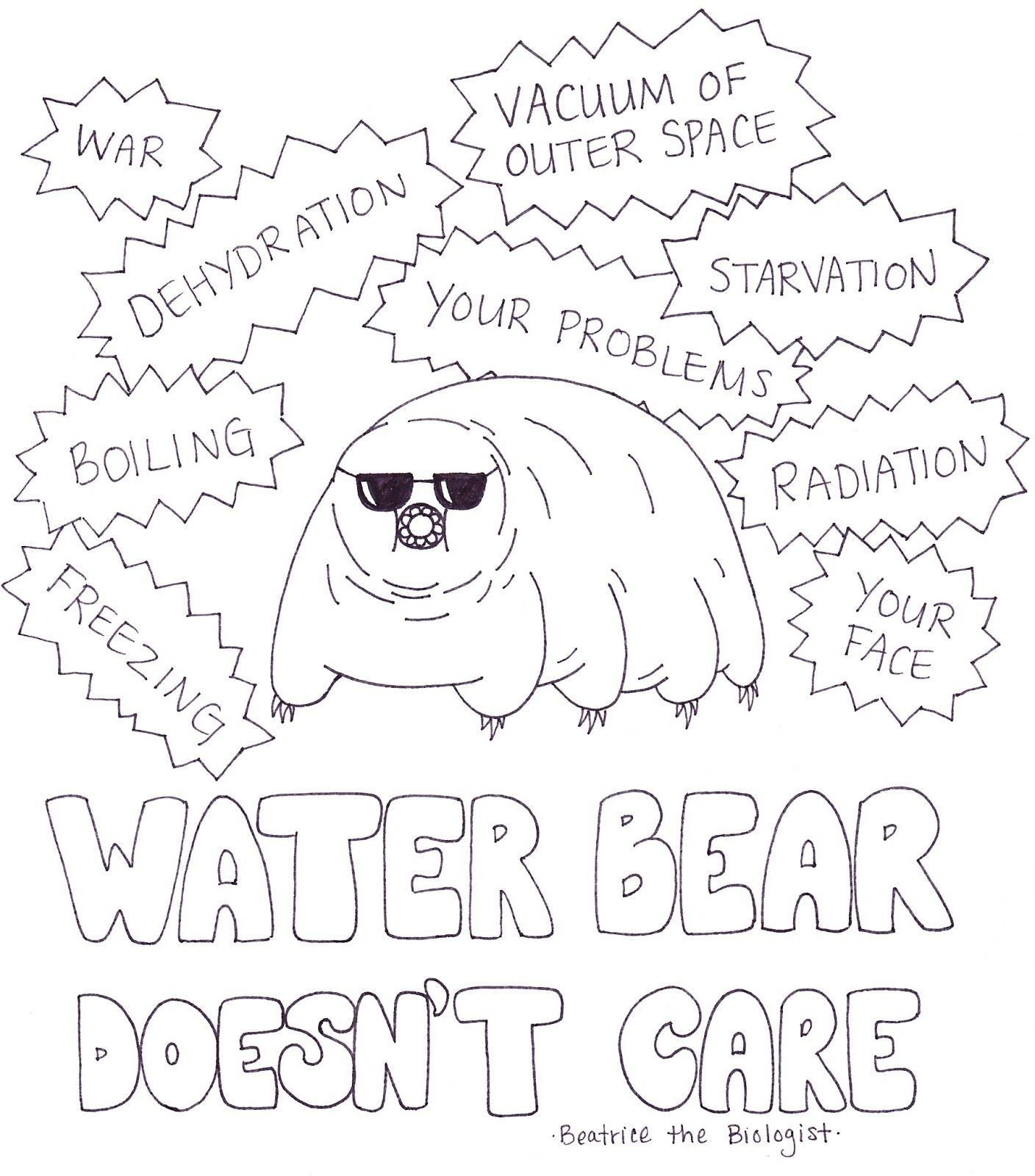 Water Bear Doesn T Care