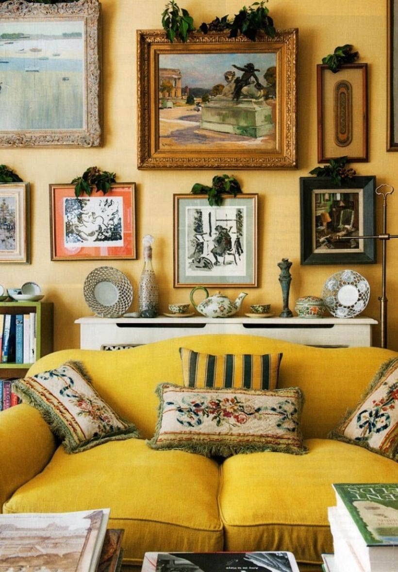 9 Stimulating Ways To Use Yellow In Your Staying Space Per