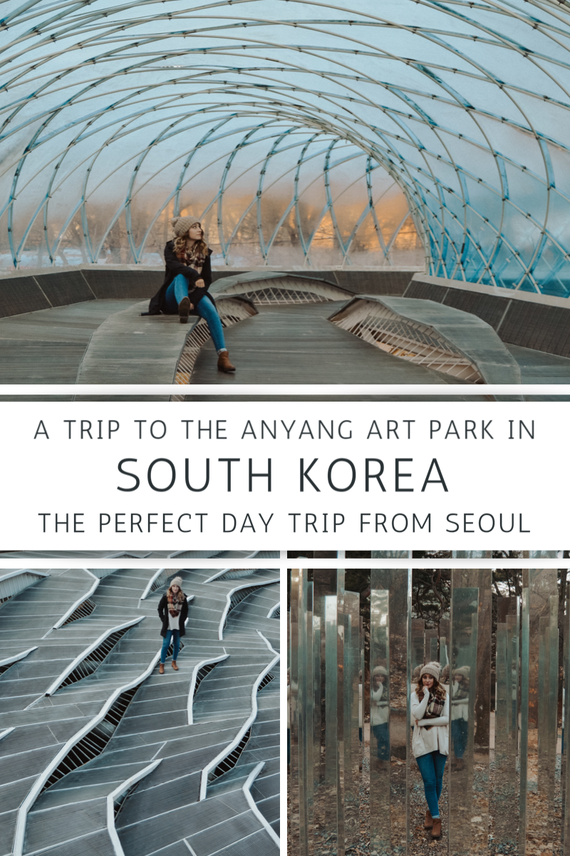 Everything you need to know for a day trip from Seoul to the Anyang Art Park in South Korea!