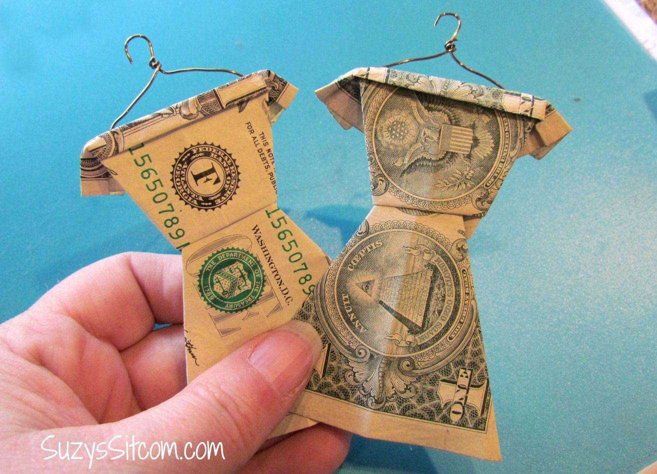 cool graduation gift idea folded money wardrobe graduation gifts