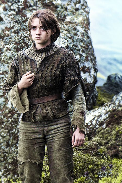 Arya Stark He left for dead at the hound,but is alive....