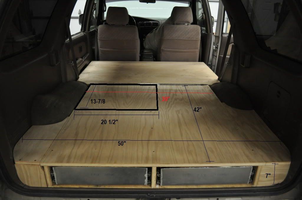 2003 Jeep Cherokee Accessories GottaBe's rear cargo box build - Toyota 4Runner Forum ...
