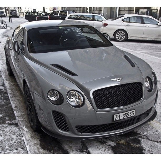 So Hot! The Bentley Continental GT