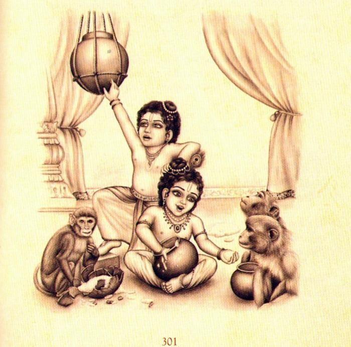Krishna Balarama Krishna Painting Indian Paintings India Art