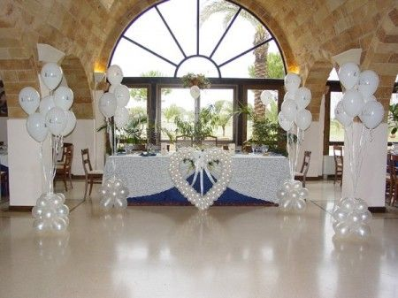 Como decorar una boda con globos bodas y celebraciones - Arreglos con globos para boda ...