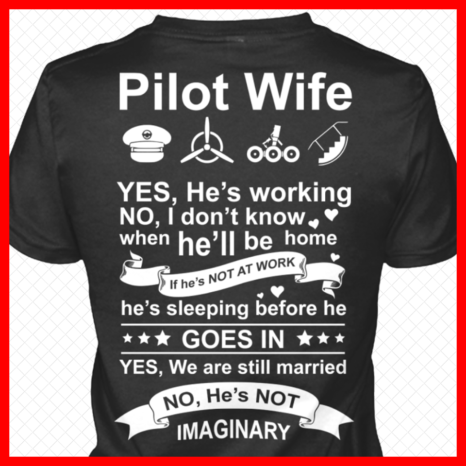 127cf31c A Pilot's Wife . . . | my man | Pilot wife, Pilot gifts, Pilot