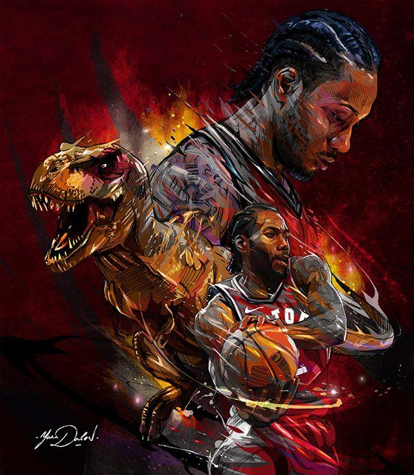 Kawhi Leonard Toronto Raptors On Behance Raptors Basketball Toronto Raptors Basketball Nba Sports