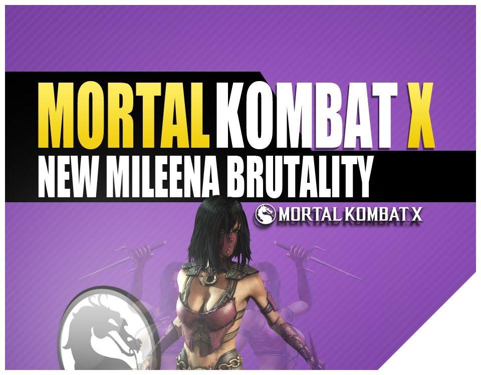 mortal kombat xl mileena brutality