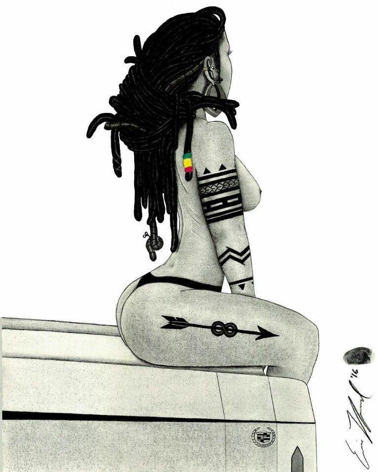 Épinglé par Eyssidieux sur Dessins Pinterest Art femmes noires - Dessiner Maison D Gratuit