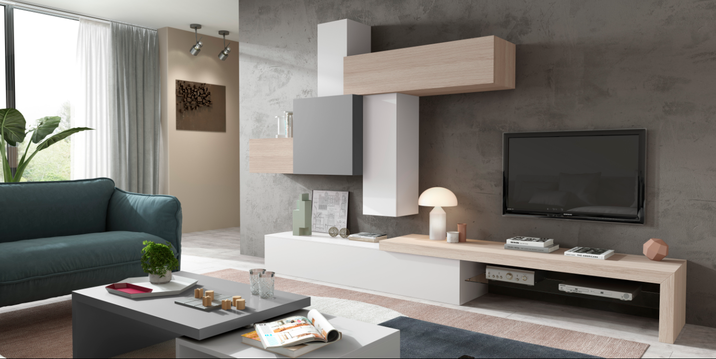 Coleccion-Impersonal2k15-4 | Bedrooms | Tv furniture, Tv wall ...