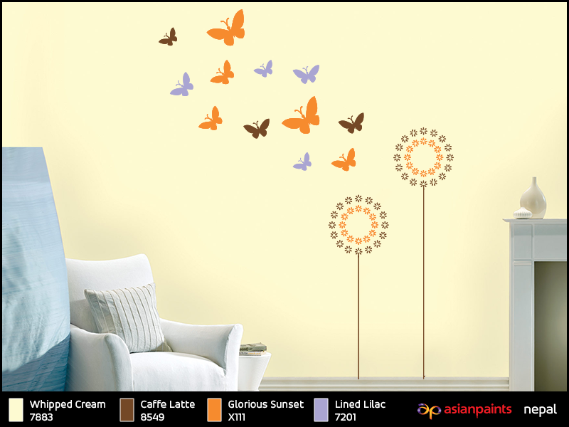 Asian Paints Royale Play Wall Fashion Offers Many Innovative Wall