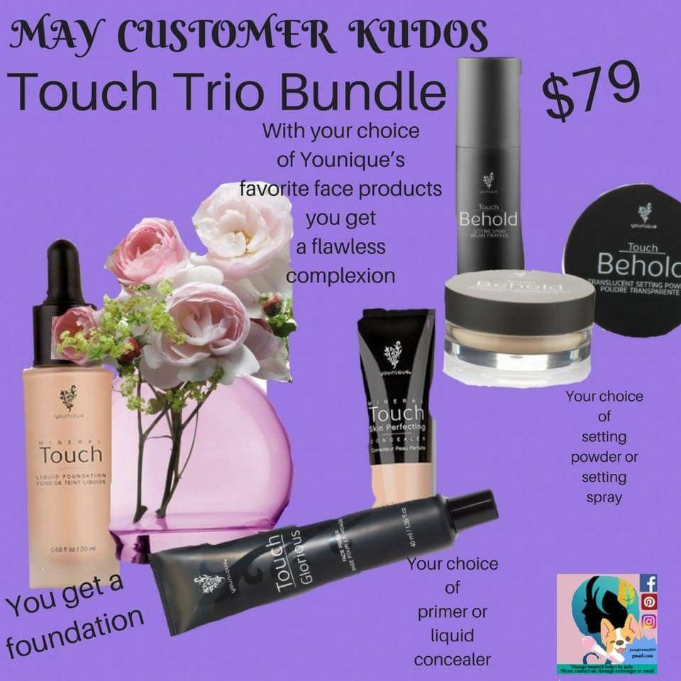 May 2018 Kudos You Nique Younique Setting Spray
