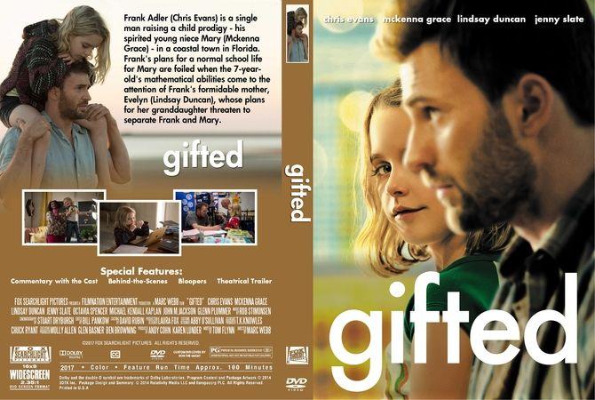 Gifted (2017) DVD Custom Cover | Custom DVD Cover Designs ...