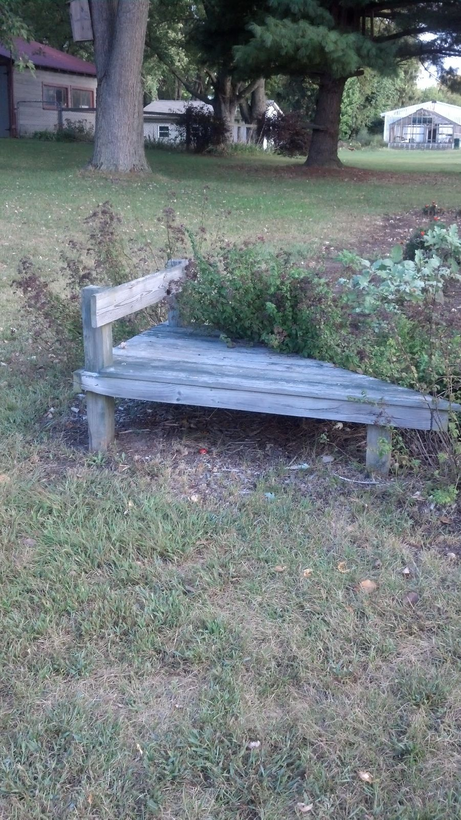 Attractive Another Garden Bench I Built. Great For Piling Produce To Keep My Dog Out Of