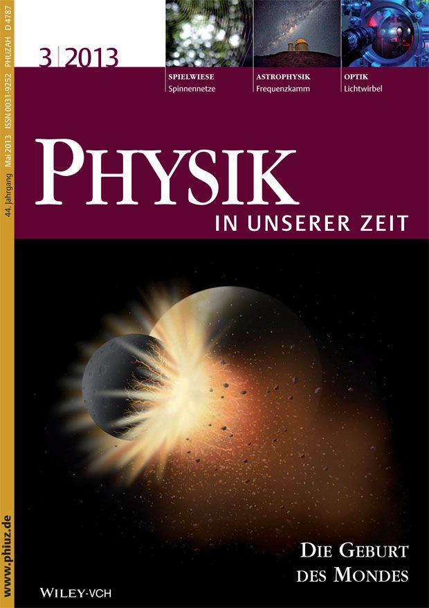Physik in unserer Zeit Copyright © 2013 WILEY-VCH Verlag GmbH & Co. KGaA, Weinheim, Mai 2013 (Volume 44, Issue 3, Pages 105–155) http://www.phiuz.de /  http://onlinelibrary.wiley.com/doi/10.1002/piuz.v44.3/issuetoc