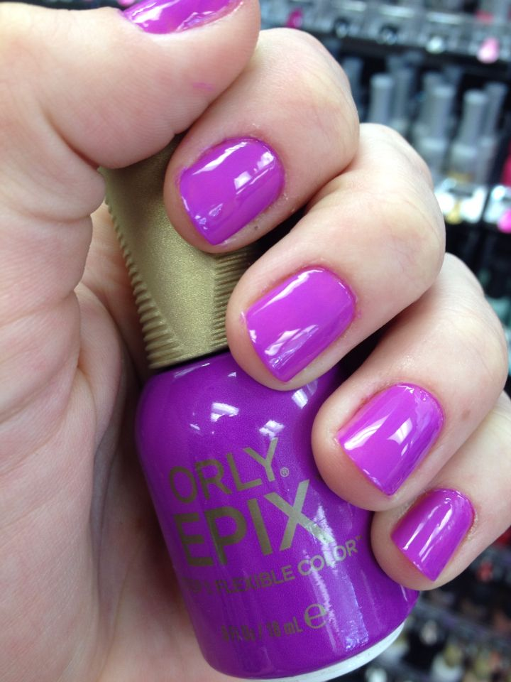 Orly Epix- Such a Critic! Did this at work. The color is way ...
