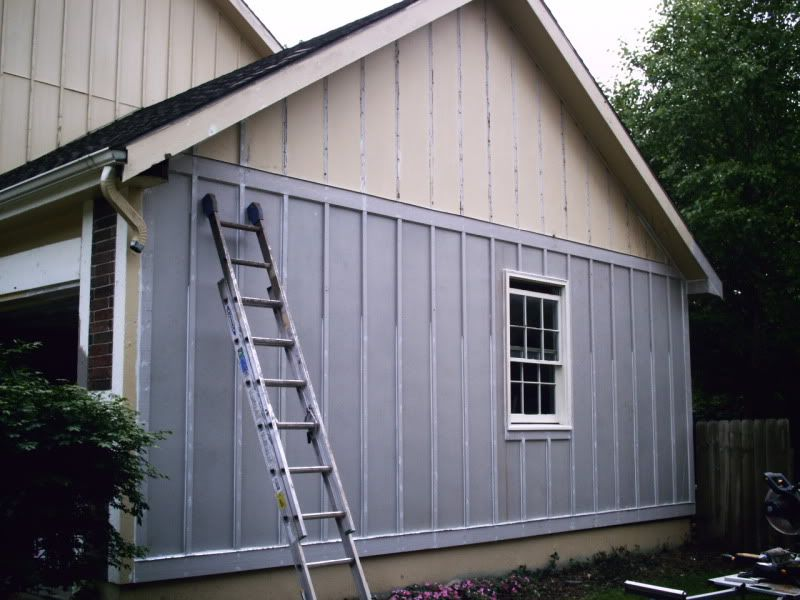 T111 siding paint talk a professional painting for How to get paint off siding