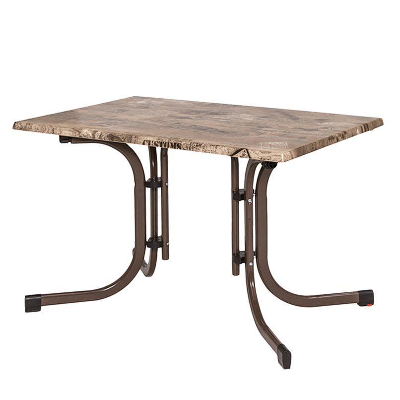 Gartentisch Ex Works III - Topalit / Stahl - Bronze - 120 x 80 cm - lounge gartenmobel gunstig