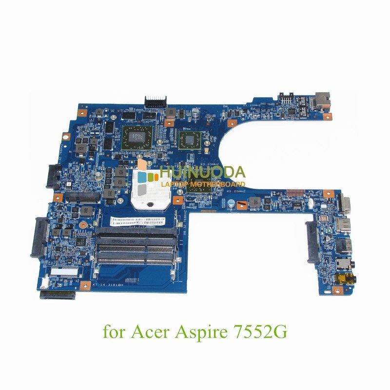 Nokotion Mb Pzt01 002 Laptop Motherboard For Acer Aspire 7552