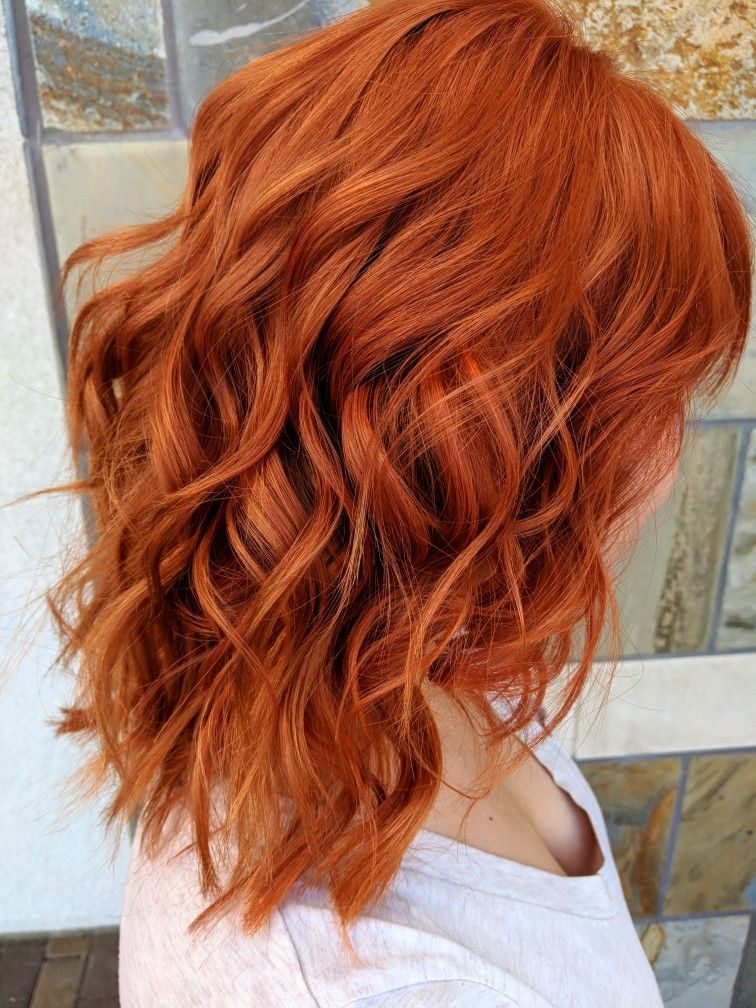 Copper Hair With Images Ginger Hair Color Hair Color Orange