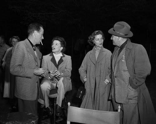 Bacall Hepburn