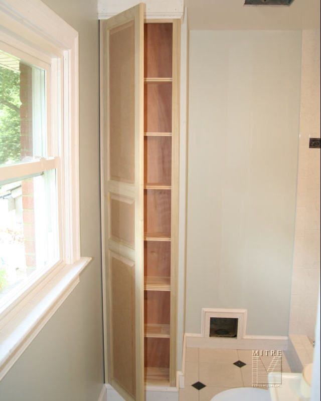 Bathroom Cabinets Built In