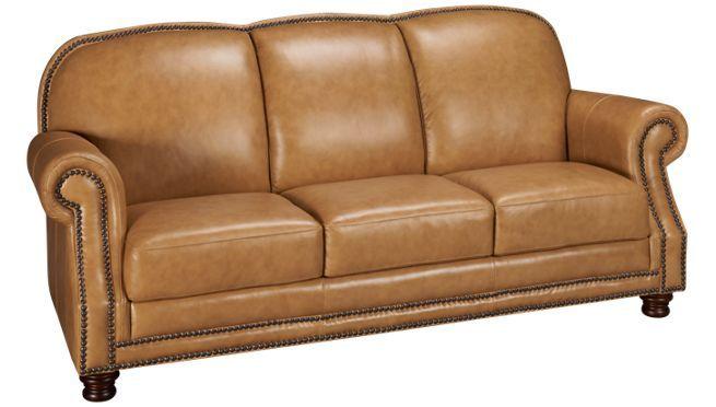 Futura Ches Nail Leather Sofa Jordan S Furniture Sofa Sofa Sale Furniture