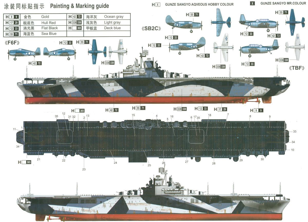 measure_33_10a.jpg (1200×865) Aircraft carrier, Wwii