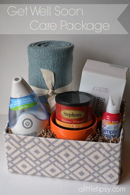 Get Well Soon Care Package Diy Amp Crafts Pinterest