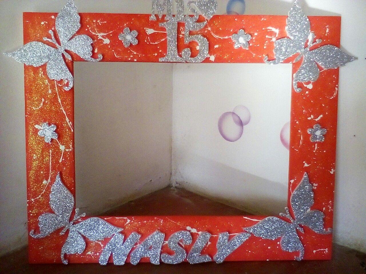 Marcos Para Fotos De 15 Anos: Pin De Detalles Sonia En Fondo Para Fotos