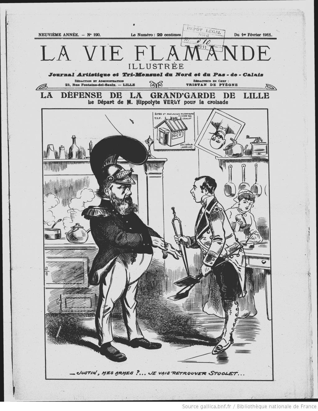 La Vie Flamande Illustrée : journal artistique et littéraire du Nord ...
