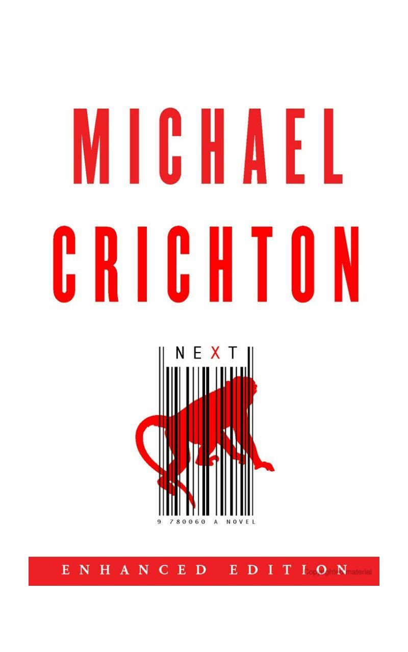 Next By Michael Crichton Michael Crichton Novels Reading