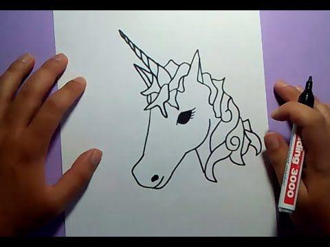 Como Dibujar Un Unicornio Paso A Paso How To Draw A Unicorn Youtube Como Dibujar Un Unicornio Unicornios Para Dibujar Unicornios Wallpaper