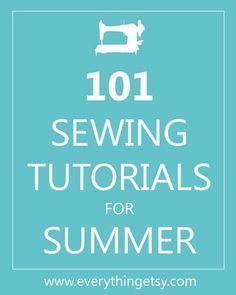 sewing Se viene el verano