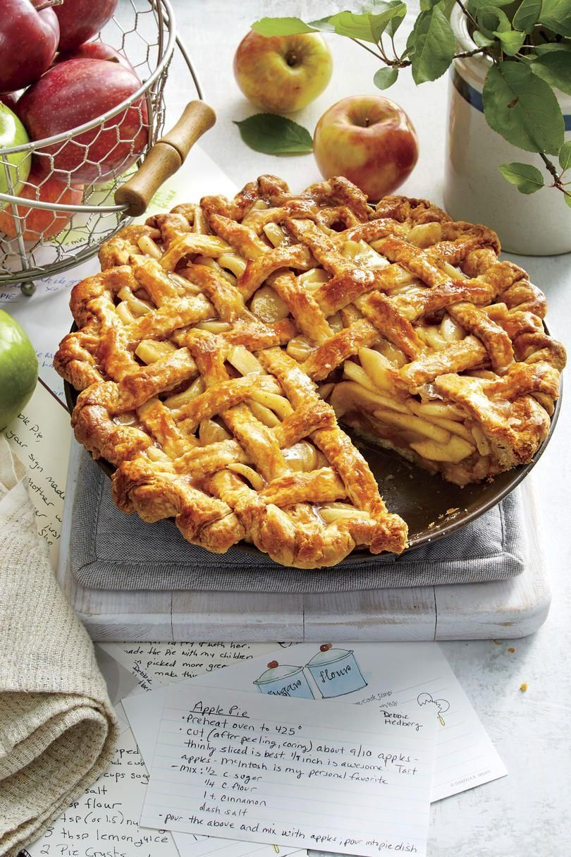 20 Inviting Apple Pies for Every Fall Occasion  - Desserts -