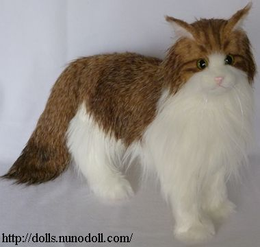 Norwegian Forest Cat stuffed | Plush Patterns | Pinterest