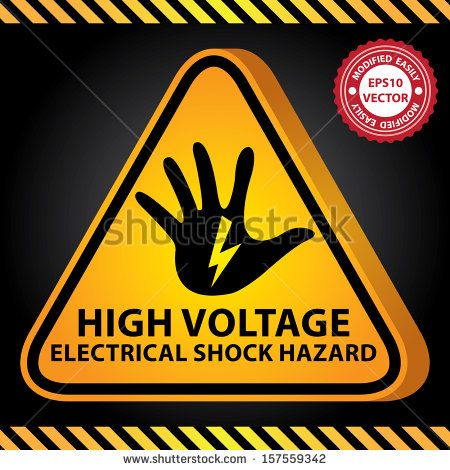 electricity dangers symbols clipart safety signs symbols