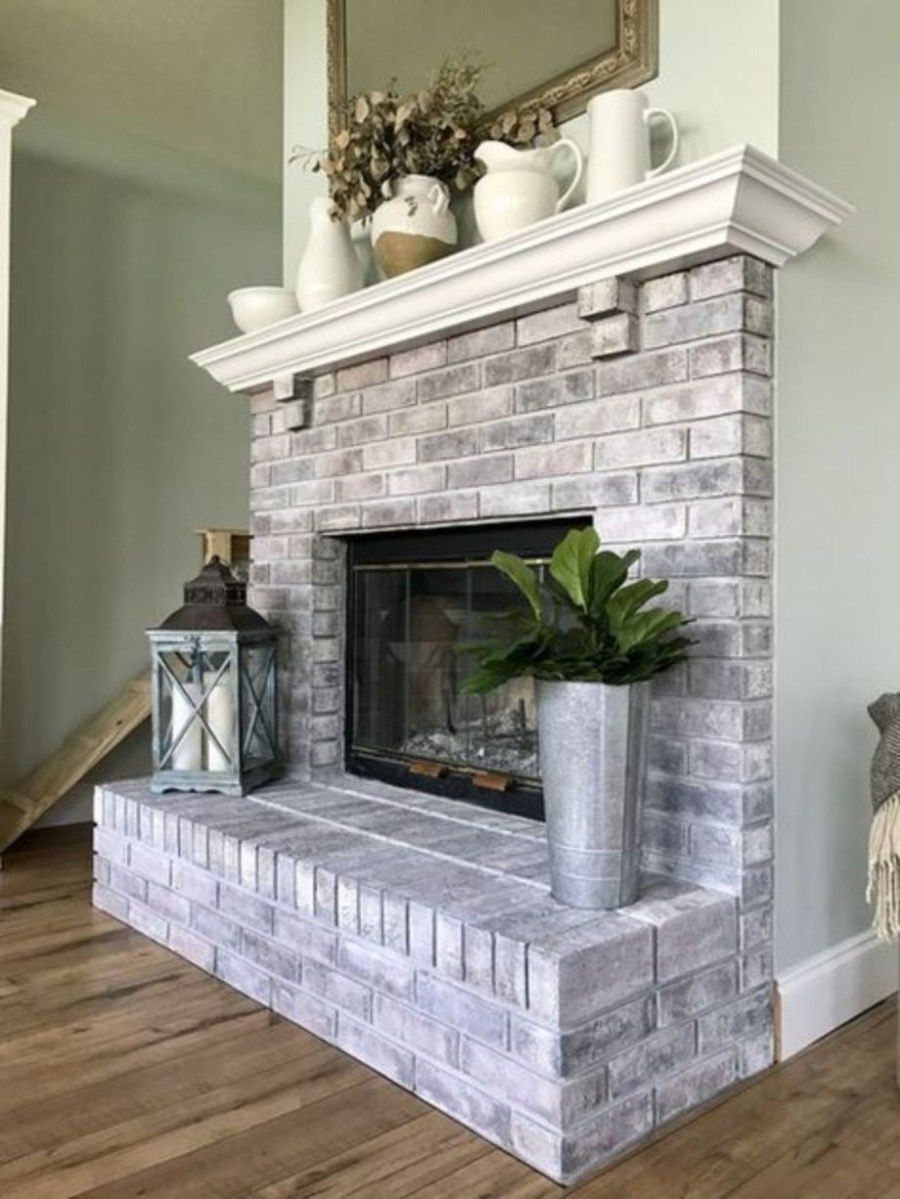 Incredible Diy Brick Fireplace Makeover Ideas 20 Family Room Ideas
