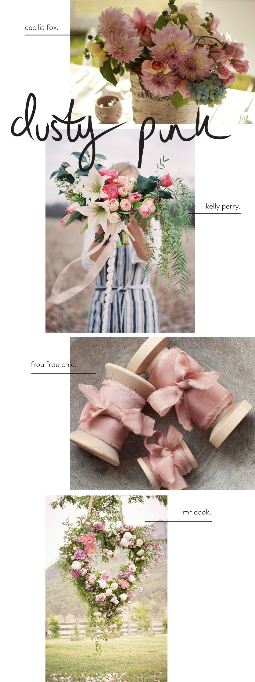 Colour Inspiration - Dusty Pink