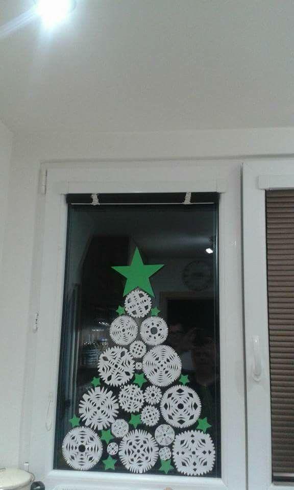 Stromeček Christmas Pinterest Navidad, Ventana y Adornos