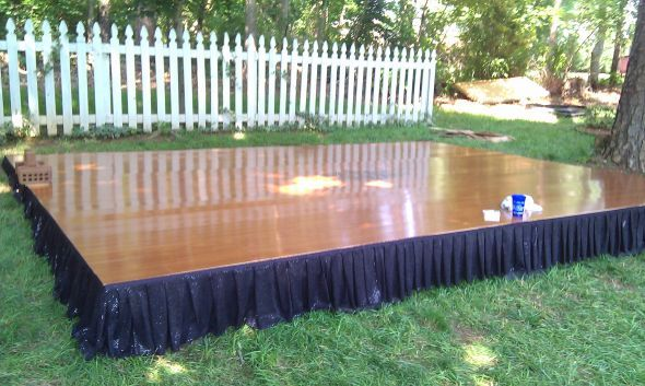The Most Challenging Diy Project Ever My Dancefloor Wedding Dancefloor2