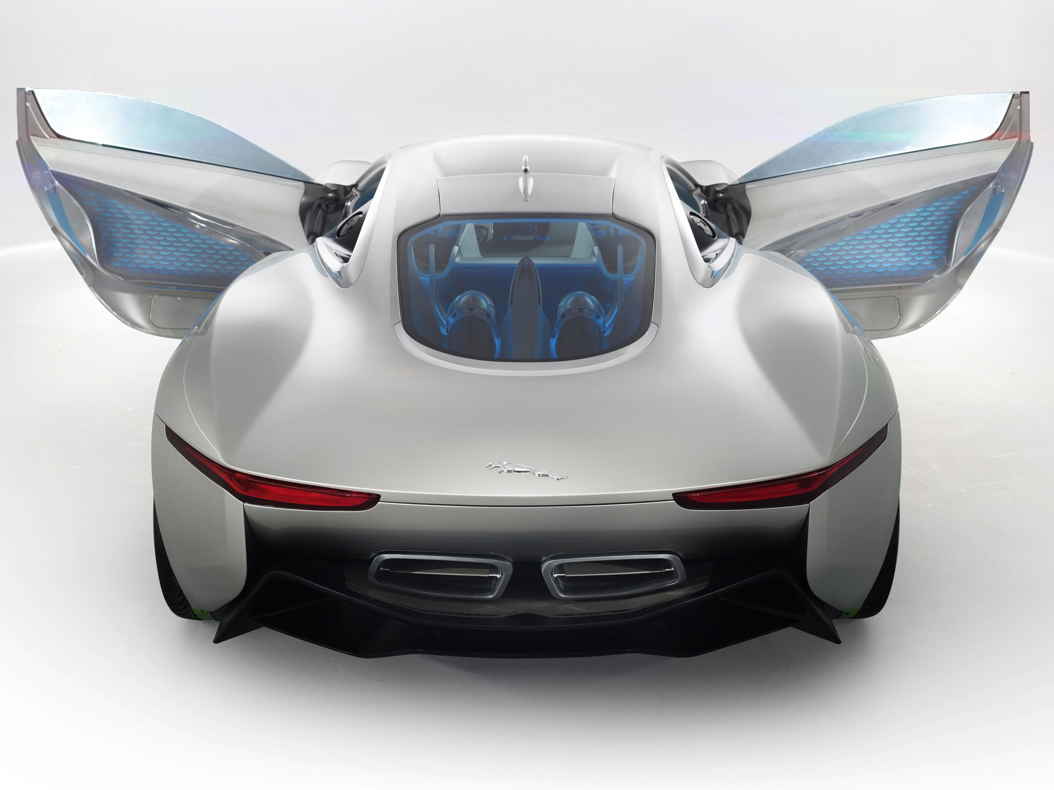 Jaguar C X75 Concept Rear And Doors Carros Incriveis Carros Auto