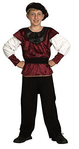 Enfant Capitaine Fancy Dress Costume Âge 10-12 ans