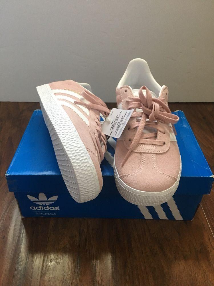 gran selección de 2019 profesional grande descuento venta New Adidas gazelle J Girls shoes light Pink Size 4 ( BY9544 ...