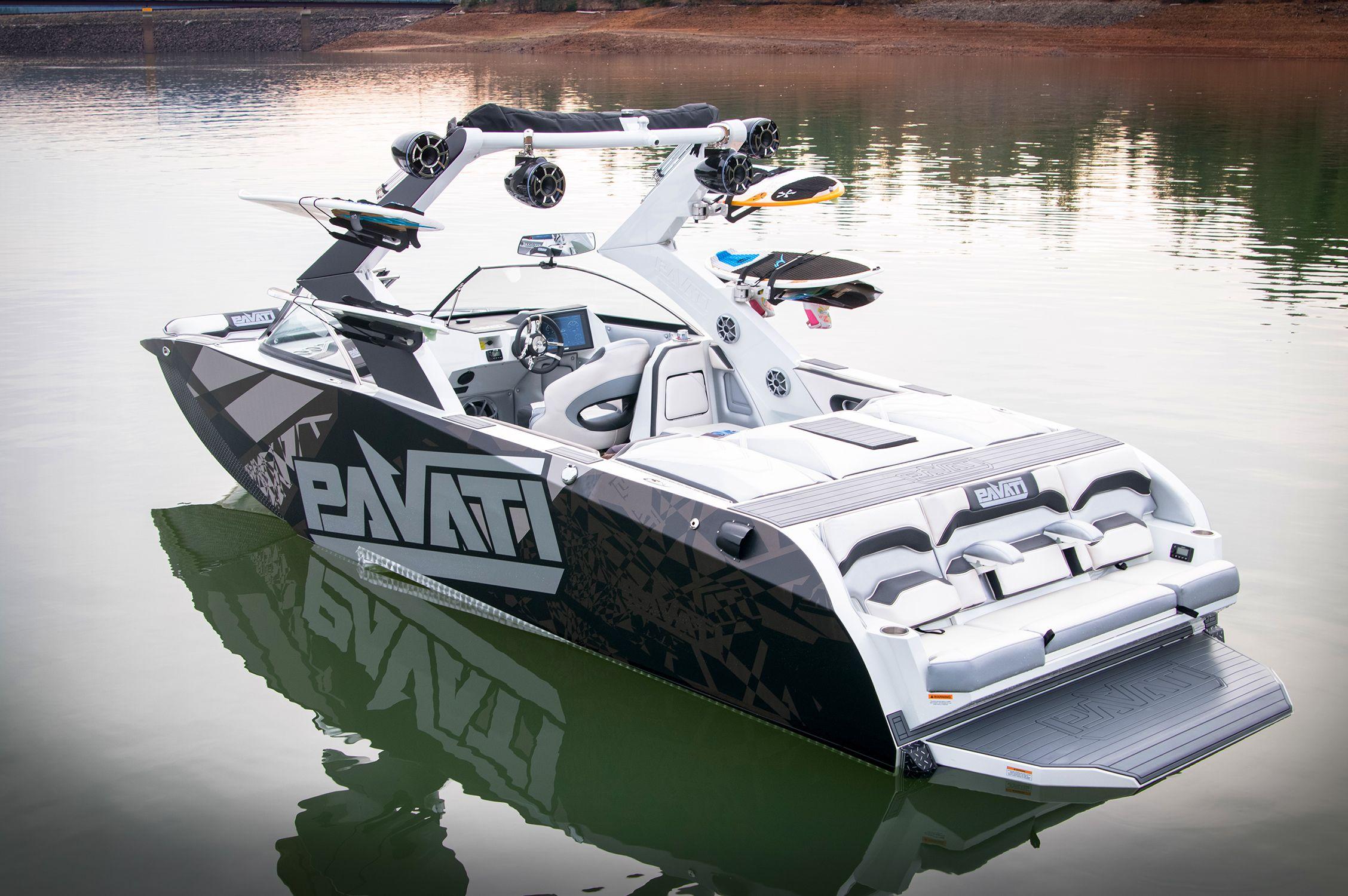 Boats For Sale Las Vegas >> 2015 Pavati AL-24s Wake Boat w/ Silver Lightning wrap. | 2015 Pavati AL-24s Silver Lightning ...